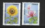 "Préo YT 257 Et 258 "" Fleurs "" 2008 Neuf **"