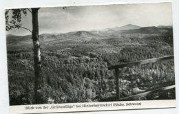 """GERMANY - AK287859 Blick Von Der """"Grünstellige"""" Bei Hinterhermsdorf - Sächs. Schweiz - Hinterhermsdorf"""