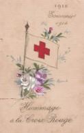 HOMMAGE A LA CROIX ROUGE SOUVENIR 1915 1914  ACHAT IMMEDIAT PRIX FIXE - Croix-Rouge