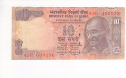 10 RUPEES INDE ND/1996 - India