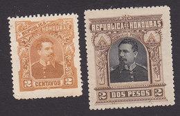 Honduras, Scott #52, 62, Mint No Gum, President Luis Bogran, Issued 1891 - Honduras