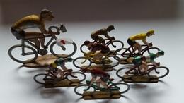 QUIRALU ??? Lot De 7 Cyclistes En ALU . - Quiralu