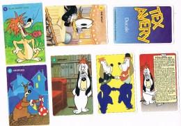 TEX AVERY Avec Droopy-Wolf Et The Girl-Magical Maestro-Georges Etc...Jeu Des 7 Familles. Bon état - Cartes à Jouer Classiques