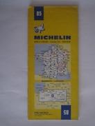 Carte Routière MICHELIN - N° 85 - Année 1976 - BIARRITZ - LUCHON - Cartes Routières