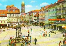 UNIVERSITÄTSSTADT GÖTTINGEN - Gänselieselbrunnen Und Weender Straße Mit St. Jakobi-Kirche (14. Jahrhundert) - Goettingen