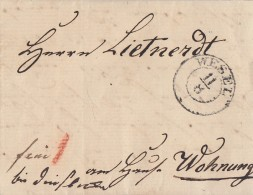 Brief K2 Wesel 11.8.1840 - Deutschland