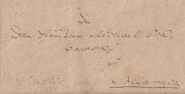 Brief Ratibor Von 1804 Mit Inhalt - Deutschland