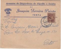 Cover ::: 1969 ::: Trofa ::: Armazém De Desperdícios De Algodão E Sucatas - 1910-... République