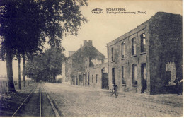 Schaffen Beringschesteenweg (Dorp) 1924 - Diest