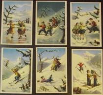 Natale, Serie Di 6 Cartoline (10) - Santa Claus