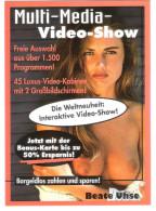 Beate Uhse - Werbepostkarte - PIN UP - Femme - Nude Girl - Women - Frau - Erotic - Erotik - Pin-Ups