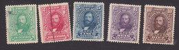 Honduras, Scott #111-115, Used, General Santos Guardiola, Issued 1903 - Honduras