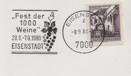 1980 Austria Eisenstadt Wein Wines Vineyard Vins Vigne Vendanges Vini Enologia Vigneti - Wines & Alcohols