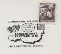 1978 Austria Langenlois Wein Wines Vineyard Vins Vigne Vendanges Vini Enologia Vigneti - Wines & Alcohols