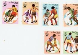Cap Vert-Cabo Verde-1982-Coupe Du Monde De Football Espagne-YT 452/7***MNH - Fußball-Weltmeisterschaft