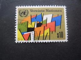 NATIONS UNIES Centre International De Vienne N°7 Oblitéré - Oblitérés