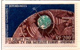 MISS119 - NUOVA CALEDONIA 1962 , Satellite Tv ***  MNH Spazio / Geofisico - Neufs