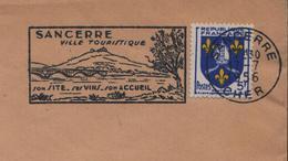 1956 France Cher Sancerre Vins Vigne Vendanges Wines Vineyard Vini Enologia Vigneti Wein - Wines & Alcohols