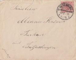 DR Brief EF Minr.47 KOS Oldenburg (Grossherzogtum) 6.2.91 - Deutschland