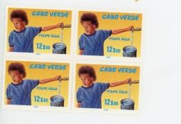 Cap Vert-Cabo Verde-1988-Campagne Pour La Prévention De L´eau-YT 536***MNH-