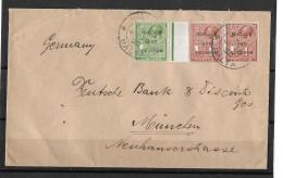 VALLETTA / MALTA - MÜNCHEN / GERMANY→ Postage And Revenue, Very Nice Letter Anno 26.06.1930 - Malte