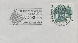 1984 Switzerland Morges Wein Vins Vigne Vendanges Wines Vineyard Vini Enologia Vigneti - Wines & Alcohols