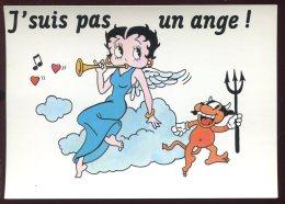 CPM Neuve BETTY BOOP J'suis Pas Un Ange - Comicfiguren