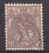 Pays-Bas 1899 Mi.nr: 55 Königin Wilhelmina Oblitérés / Used / Gestempeld - Gebraucht