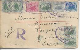 Coolgardie LR (registered)>>Mirecourt Timbres 42x5, 43, 44, 45 1897 - 1854-1912 Western Australia
