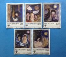 1979 SAN MARINO FRANCOBOLLI NUOVI STAMPS NEW MNH** ANNO INTERNAZIONALE DEL FANCIULLO - Saint-Marin