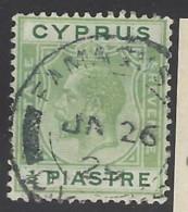 Cipro - 1925 - Usato/used - Mi N. 102 - Cyprus (...-1960)