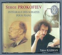 COFFRET 2 CD - INTEGRALE DES SONATES DE SERGE PROKOFIEV - YAKOV KASMAN, Piano - Chants Gospels Et Religieux