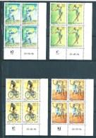 Monaco Timbres De 1996 Série N°2051 A 2054 En Coin Daté Neufs ** - Monaco