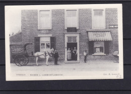 STOCKAY MAISON LAMBERT LAMOTTE REPRODUCTION  (charrette Cheval )