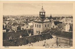 STETTIN / Szczecin - 1932 , Blick Vom Uhrturm Des Schlosses - Pommern