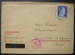 Bergen Belsen, Camp De Concentration: Rare Lettre De 1943 De Fernand Rouanes à Sa Famille à Villeneuve Sur Lot !