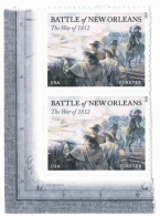 USA 2015 #4952 War Of 1812 New Orleans 0.49c X 4 MNH ** - United States