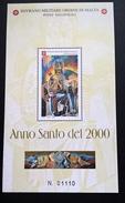 SMOM ANNO SANTO DEL 2000 - BF INTEGRO - GINO SEVERINI - Sovrano Militare Ordine Di Malta