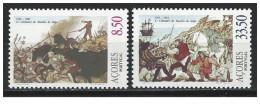 Portogallo - Azorre - 1981 - Nuovo/new MNH - Battaglia Di Salga - Mi N. 343/44 - Azores