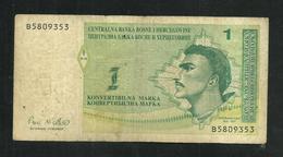 Bosnia And Herzegovina 1 Marka  1998 - Bosnia Y Herzegovina