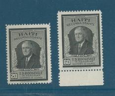 Haiti - AERIEN  - Serie Yvert N° 33 Et 34 **  - Cw0307 - Haiti