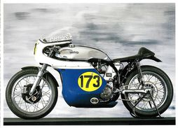 TRANSPORT MOTO MOTOCYCLETTE NORTON MANX MOTO ANCIENNE  EDIT. LES MOTOS BOOKKING - Motos