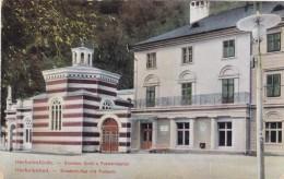 Herkulesbad Austria-Hungary (now Băile Herculane Romania), Spa Resort Architecture, C1900s Vintage Postcard - Romania