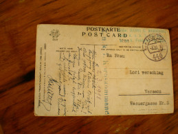 WW1 Feldpost 440 1918 - Militaria