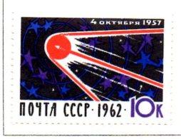 MISS135 - RUSSIA 1962 , SPUTNIK I  ***  MNH Spazio / Geofisico - 1923-1991 URSS