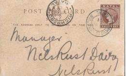 RICHMOND - Post Card Half Penny  Anno 27.03.1901 - 1840-1901 (Victoria)
