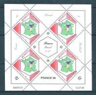 Monaco Série De 1998  N°2163 (feuillet)  En Coin Daté Neufs ** - Monaco