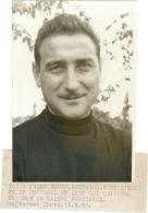 FOOTBALL PHOTO DE PRESSE - FC Lens Jules Bigot Entraineur  1962 - Sport