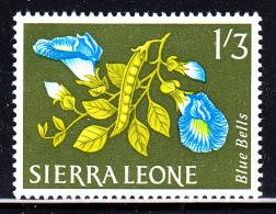 Sierra Leone MH Scott #235 1sh3p Blue Bells - Flowers 1963 - Sierra Leone (1961-...)