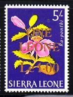 Sierra Leone MH Scott #284 1 Leone On 5sh Ra-ponthi 1965 - Sierra Leone (1961-...)